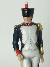 Soldat, officier, en porcelaine de Paris