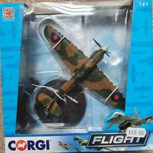 Corgi Aviation Flight Hawker Hurricane MkII CC99307 1:72