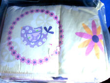 Too Good by Jenny~Flutter~4 Piece Reversible Crib Bumper Pad~New In Package