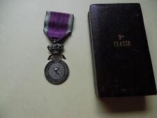 belle medaille  congo belge en argent+ boite d'origine
