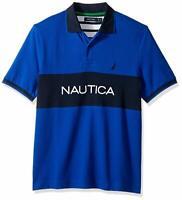 NAUTICA Men's Collar T-Shirt 100% Cotton Navy Black M L XL XXL NWT