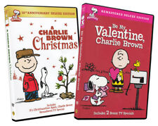 A Charlie Brown Christmas / Be My Valentine, C New DVD