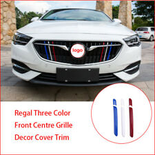 For Buick Regal Three Color Front Centre Grille Decor Cover Trim 2017 2018 2019