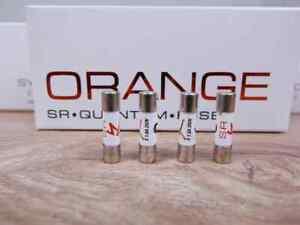 Synergistic Research Orange audio Quantum Fuse 5x20mm Slo-blow 1.6A 250V (4 a...