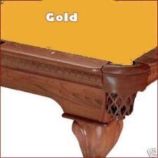 7' Gold ProLine Classic TEFLON Billiard Pool Table Cloth Felt - SHIPS FAST!