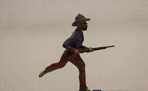 Elastolin Masse Cowboy Schütze rennend  7,5 cm Serie  Wildwest