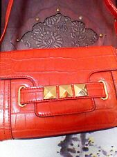 M&S Collection Limited Edition Women's Shoulder/Cross Body Bag Red Small