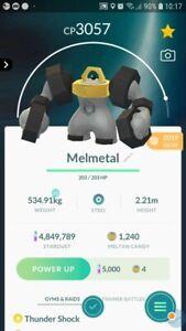 Melmetal ( Meltan Evolution ) Trading Pokemon GO