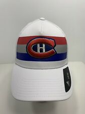 Montreal Canadiens NHL Adidas Fitted Cap Size L/XL, NEW!