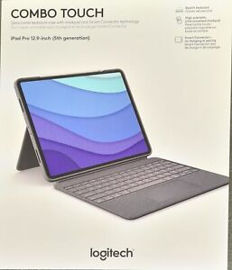 Logitech COMBO TOUCH With TRACKPAD FOR iPAD PRO 12.9-inch 5th Gen 2021