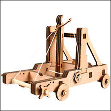 Young Modeler Wooden Model Kit_Education Series Mangonel(YM407): hobby toy Game