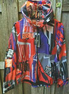 Nike Windrunner Berlin Running Jacket Women's S-M-L DA1868-854