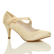 Unbranded Mary Janes Slim Heels for Women