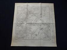 Landkarte Meßtischblatt 2735 Grabow an der Elde, Groß Warnow, Pinnow, 1938