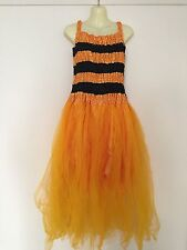 ADULT 14 16 Bumble Bee Fancy Dress Fairy Costume