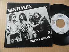 "DISQUE 45T DE VAN HALEN  "" PRETTY WOMAN """