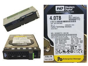 Fujitsu WD RE 4TB 3.5'' SATA 6G 7.2K Server Hard Drive HDD S26361-F3815-L400