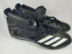 Adidas Freak X Carbon Mid Football Cleats, BW1414, Black, Men's 17, New