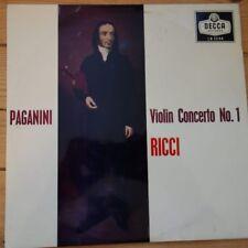 LW 5344 Paganini Violin Concerto No. 1 / Ruggiero Ricci / Collins / LSO