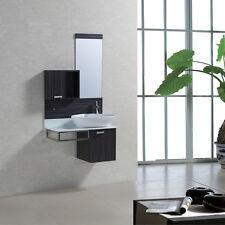 Moderne Badmöbelsets aus MDF -/Spanplatten in Holzoptik mit 3 ... | {Badezimmermöbel holzoptik 64}