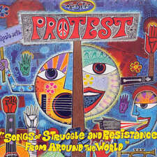 CD: Sampler: Protest - Songs Of Struggle + Resistance From Around The World /Neu