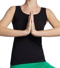"'Esparto Yoga Tanktop ""Auron in cotone biologico, nero, XL (u0b)"