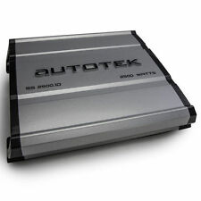 Autotek SS2500.1D 2500W Monoblock Super Sport Series Class-D Car Amplifier
