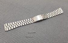 NUOVO 19mm Seiko 5 Long S. acciaio BELLMATIC Gents Watch Cinturino Bracciale + Collegamenti EXTRA