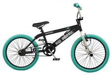 """Rooster Big Daddy Kids 20"""" Wheel Freestyle BMX Bike Gyro Black Turquoise RS126"""