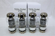 KT88 Teslovak JJ Matched Quad 4 tubes New Old Stock 2012 JJ production kt90