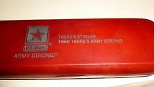 US ARMY STRONG PEN SET in WOOD CASE & NOTE PAD & TRAVEL BAG