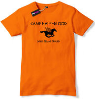 Camp Half Blood Funny Book T-Shirt Mens / Boys tshirt