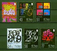 Guernsey 2009 - 40 Jahre Briefmarken der autonomen Postverwaltung - 1260-65 **