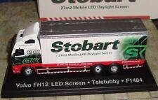 EDDIE STOBART - VOLVO FH12 LED SCREEN TRUCK - 'TELETUBBY'  - 1:76 - BOXED