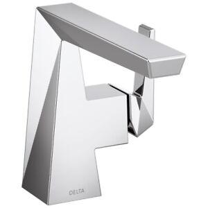 Delta Trillian Stainless Single Hole & Handle Bath Faucet 543-SSMPU-DST NEW