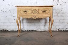 Baker Furniture French Provincial Louis XV White Oak Buffet Server