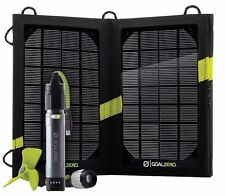 GoalZero switch 10 + Nomad 7 panel solar motor auxiliar incl. ventilador y LED-lámpara
