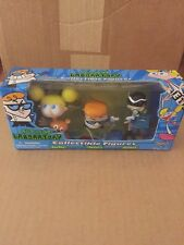 Dexter's Laboratory Collectible Figures. Brand New In Box