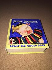 NICE 1930's HTF TITLE LUCIE ATTWELL's GREAT BIG MIDGET BOOK  BIG LITTLE BOOK