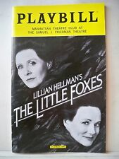 CHRISTOPHER WALKEN NYC 1984 HURLYBURLY Playbill WILLIAM HURT CYNTHIA NIXON