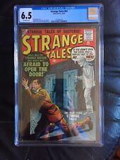 STRANGE TALES #65 CGC FN+ 6.5; OW; Baily art! rare!
