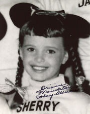 New listing Sherry Alberoni Signed 8x10 Photo Mouseketeer Mickey Mouse Club Rare Beckett Bas