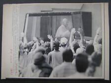 AP Wire Press Photo 1987 Pope John Paul II Columbia S C Popemobile greetings
