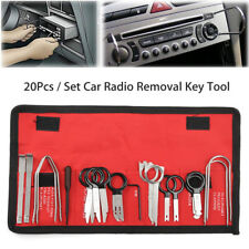 20 Pcs Pro Car Radio Stereo CD Player Removal Key Tool Kit Set For BMW VW Audi