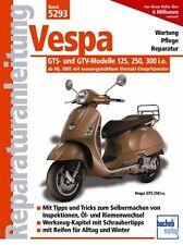 VESPA GTS GTV 125 250 300 Reparaturanleitung Reparaturbuch Reparatur-Handbuch