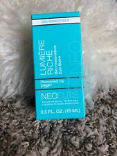 Neocutis Lumiere Riche Bio-restorative Eye Balm 15ml Brand New!