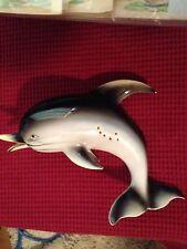 Vintage Dolphin Wall Plaque Lefton G/W Vintage Mermaid