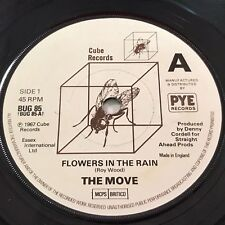 """THE MOVE Flowers In The Rain 1979 UK 7"""" vinyl single EXCELLENT CONDITION 45"""