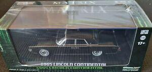 GREENLIGHT 1:43 Hollywood - The MATRIX - 1965 Lincoln Continental - Diecast car