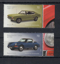 519 ) Germany 2016 **/ MNH - Oldtimer. Ford Capri and Porsche Targa 911